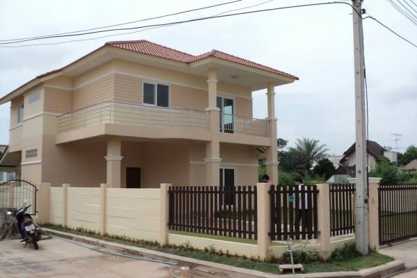 บ้านเดี่ยว 2 ชั้น 89 ตารางวา สภาพใหม่ อุปกรณ์ที่ใช้อย่างดี ไม่ไกลตัวเมือง จ.หนองคาย แหล่งชุมชน