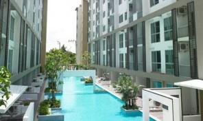คอนโดมิเนียม สภาพใหม่ ใจกลางกรุงเทพมหานคร ถนนสุขุมวิท 77 ราคาเพียง 1.59 ล้านบาท
