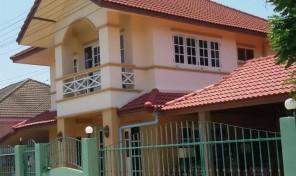 บ้านเดี่ยว 2 ชั้น มือสอง ต.หนองหาร อ.สันทราย เชียงใหม่ ใกล้มหาวิทยาลัยแม่โจ้ แหล่งชุมชน ราคาถูก